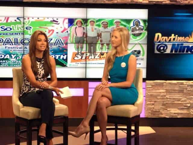 Executive Director, Shanna Schulze, on Daytime@Nine promoting our a fundraiser
